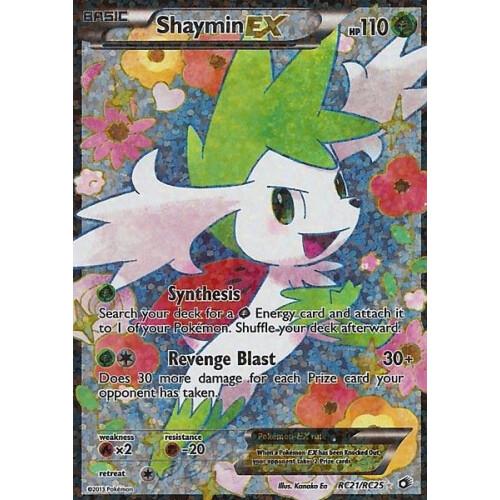 Shaymin Ex Rc21rc25 Fullart