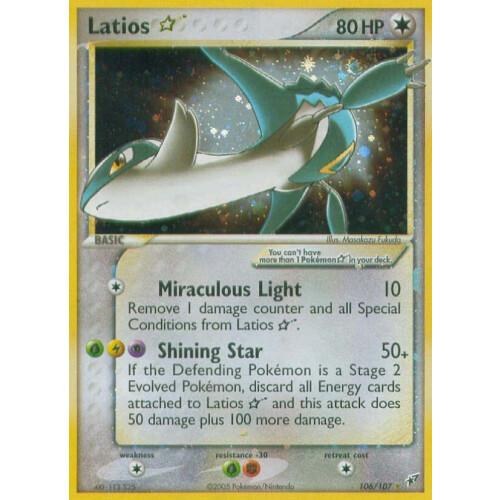 Shiny Latios Card