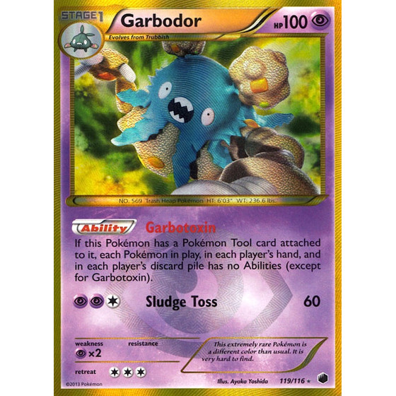 Garbodor - 119/116 - Shiny