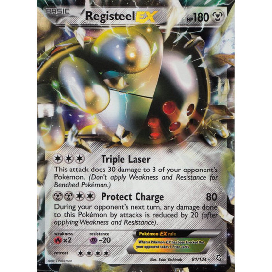 Registeel-EX - 81/124 - EX