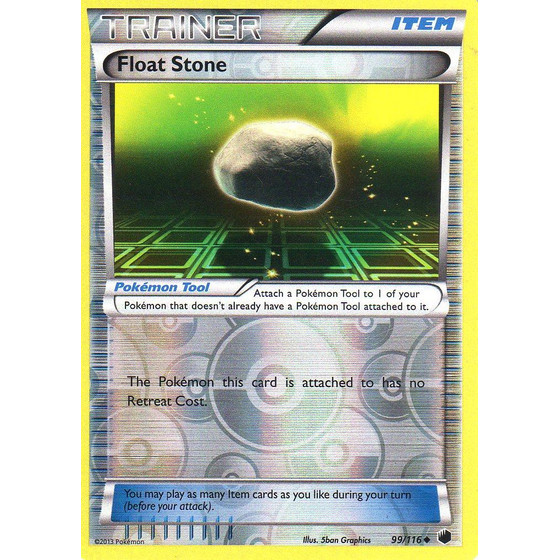 Float Stone - 99/116 - Reverse Holo