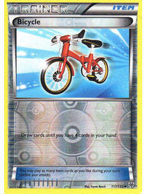 Bicycle - 117/135 - Reverse Holo