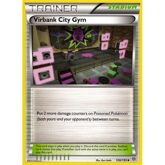 Virbank City Gym - 126/135 - Uncommon