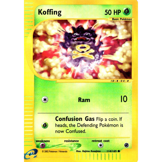 Koffing - 114/165 - Reverse Holo