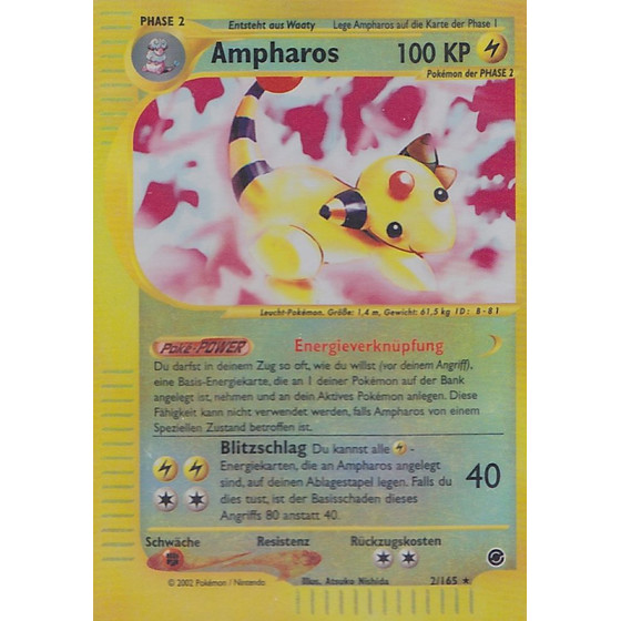 Ampharos - 2/165 - Reverse Holo