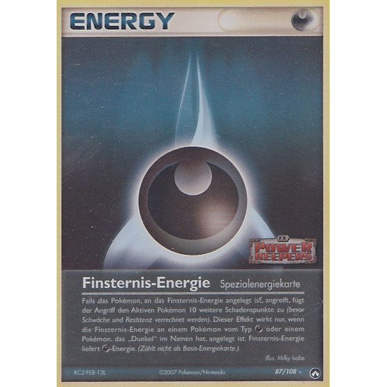Finsternis-Energie - 87/108 - Reverse Holo