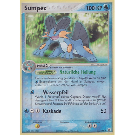 Sumpex - 23/109 - Reverse Holo