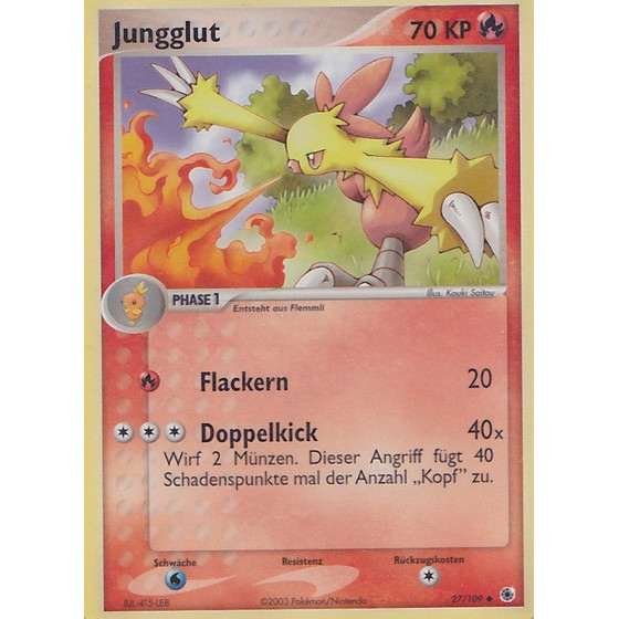 Jungglut - 27/109 - Reverse Holo