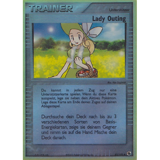 Lady Outing - 83/109 - Reverse Holo