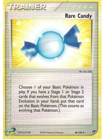 Rare Candy - 88/100 - Reverse Holo - Played