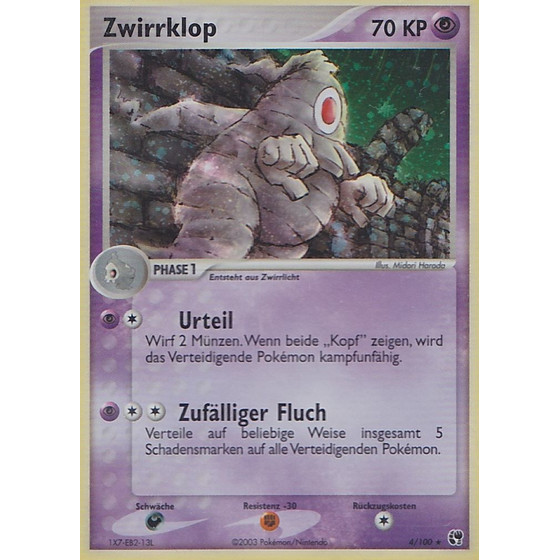 Zwirrklop - 4/100 - Reverse Holo