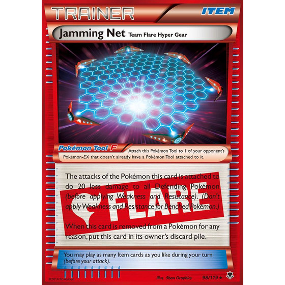Jamming Net - 98/119 - Holo