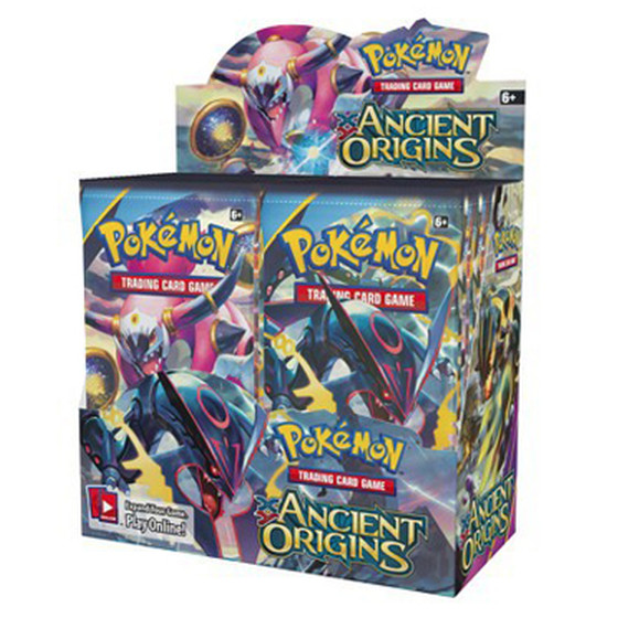 XY7 Ancient Origins Display