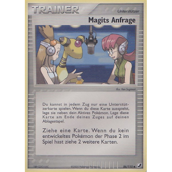 Magits Anfrage - 86/115 - Reverse Holo