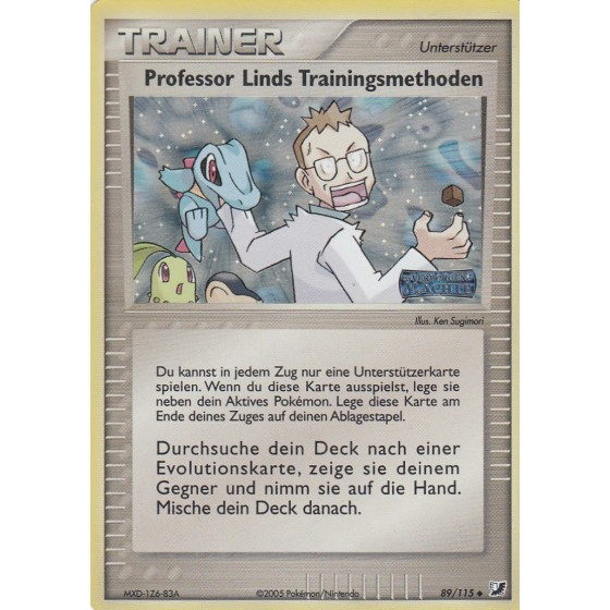 Professor Linds Trainingsmethoden - 89/115 - Reverse Holo