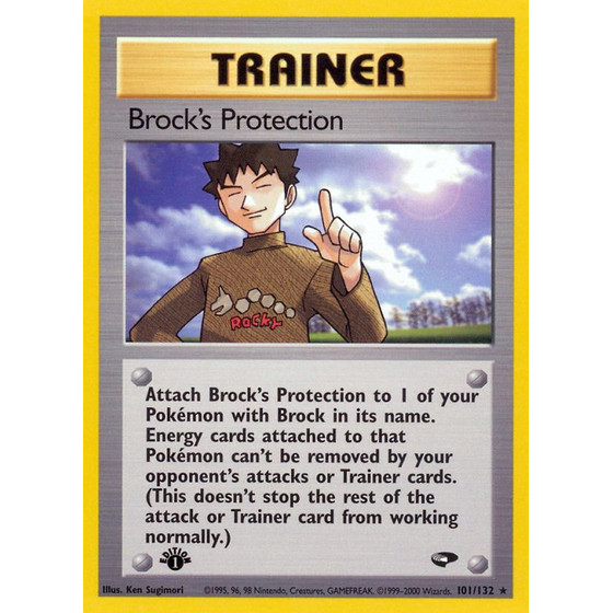 Brocks Protection - 101/132 - Rare