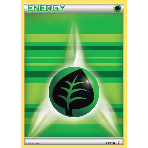 Grass Energy - 75/83 - Reverse Holo