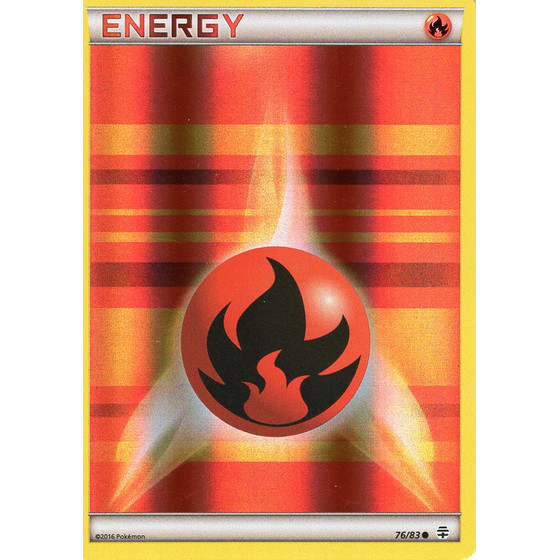 Fire Energy - 76/83 - Reverse Holo