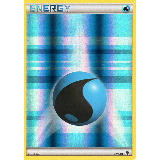 Water Energy - 77/83 - Reverse Holo