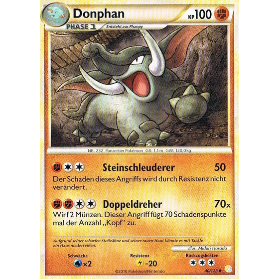 Donphan - 40/123 - Reverse Holo