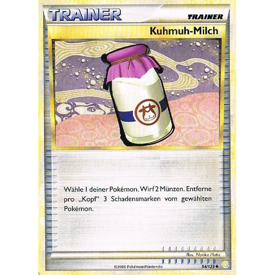 Kuhmuh-Milch - 94/123 - Reverse Holo