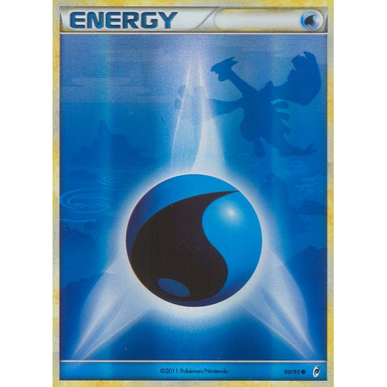 Water Energy - 90/95 - Reverse Holo