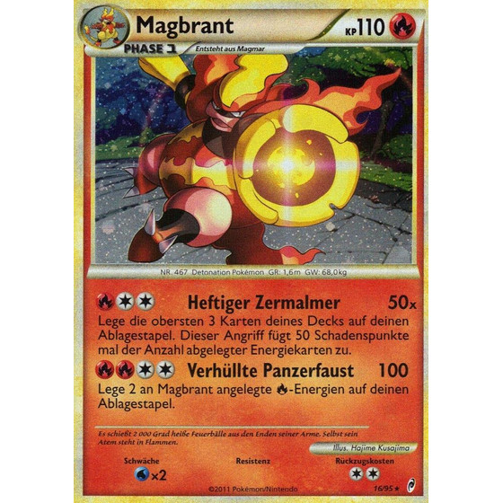 Magbrant - 16/95 - Reverse Holo