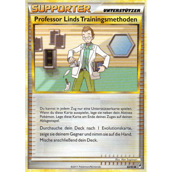 Professor Linds Trainingsmethoden - 82/95 - Reverse Holo
