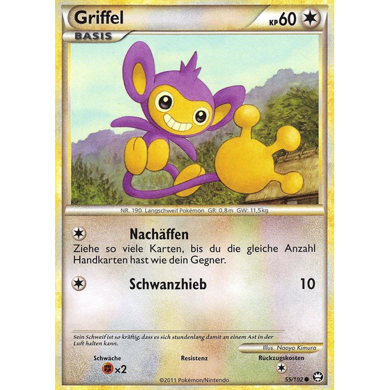 Griffel - 55/102 - Reverse Holo
