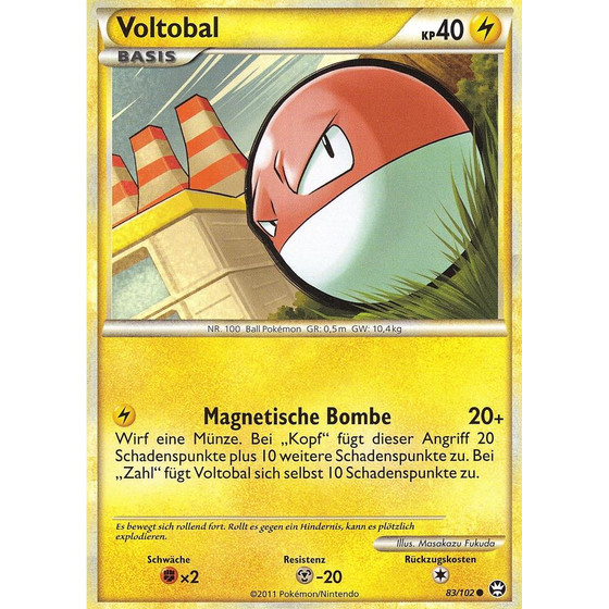 Voltobal - 83/102 - Reverse Holo
