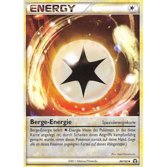 Berge-Energie - 90/102 - Reverse Holo