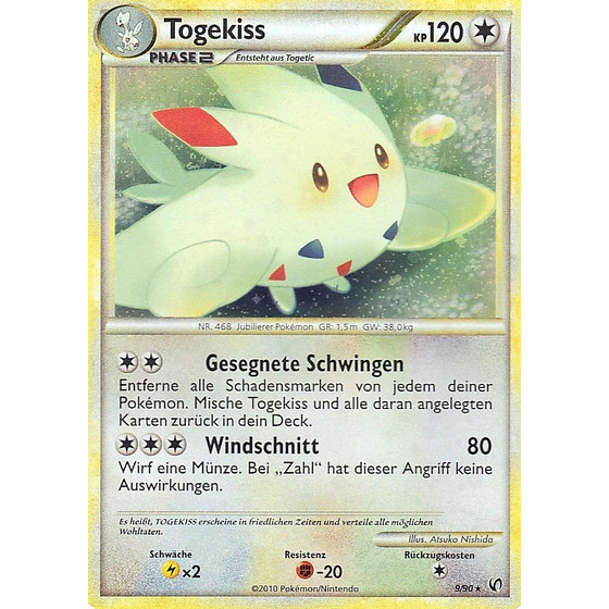 Togekiss - 9/90 - Reverse Holo