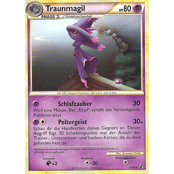 Traunmagil - 19/90 - Reverse Holo