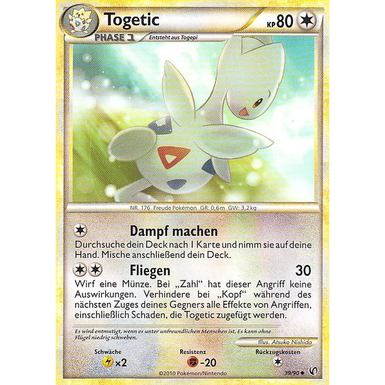 Togetic - 39/90 - Reverse Holo