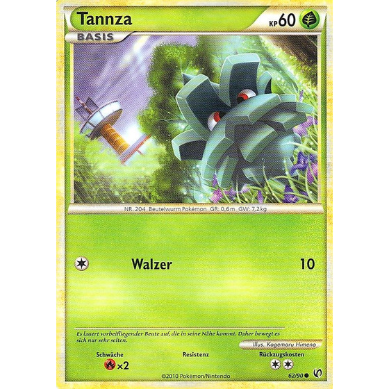Tannza - 62/90 - Reverse Holo