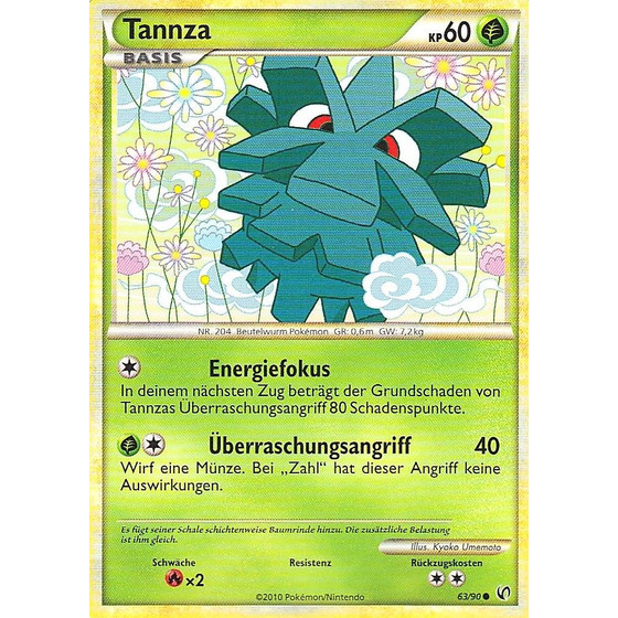 Tannza - 63/90 - Reverse Holo
