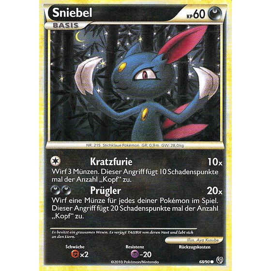 Sniebel - 68/90 - Reverse Holo