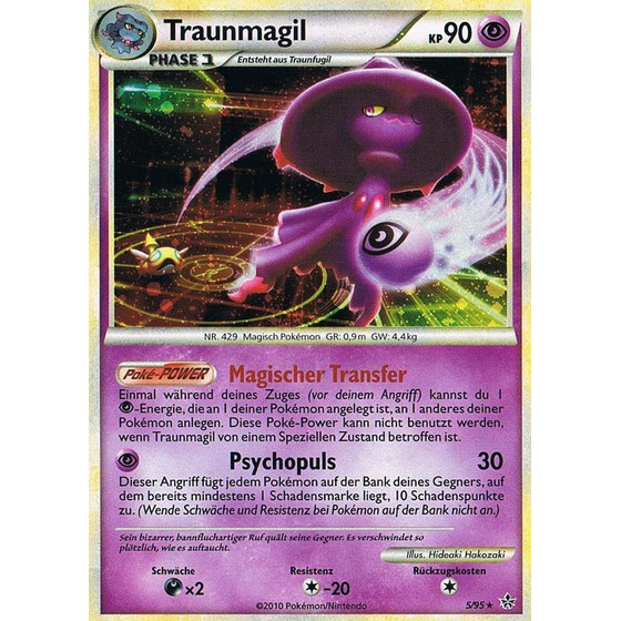 Traunmagil - 5/95 - Reverse Holo