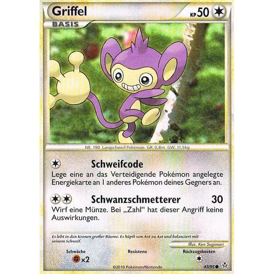 Griffel - 43/95 - Reverse Holo