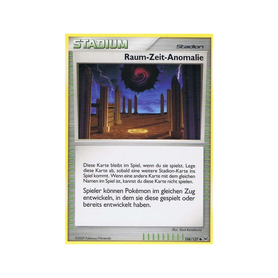 Raum Zeit Anomalie   21/21   Reverse Holo