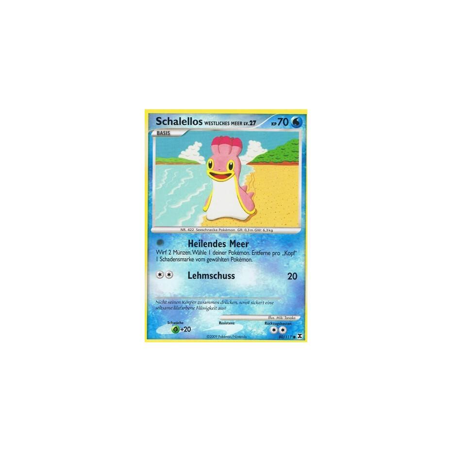 Schalellos Reverse Holo Deutsch Pokemon Platin Aufstieg der Rivalen 80//111