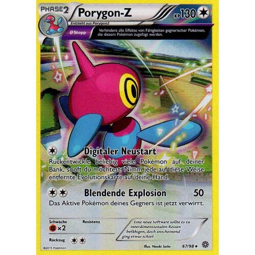 Pokemon XY Ewiger Anfang 17//98 Ramoth Reverse Holo Deutsch