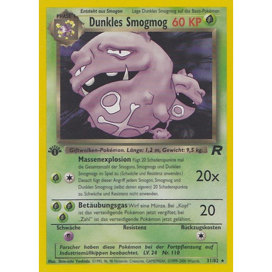 Dunkles Smogmog - 31/82 - Rare 1st Edition