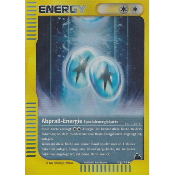 Abprall-Energie - 142/144 - Reverse Holo