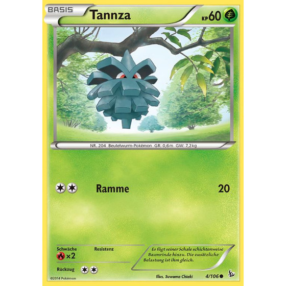 Tannza - 4/106 - Reverse Holo