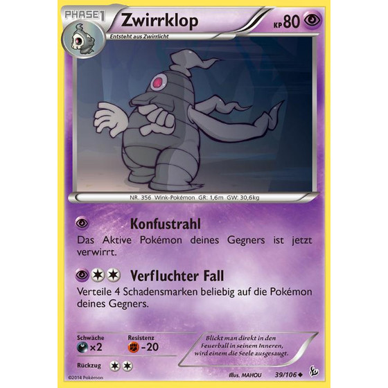 Zwirrklop - 39/106 - Reverse Holo