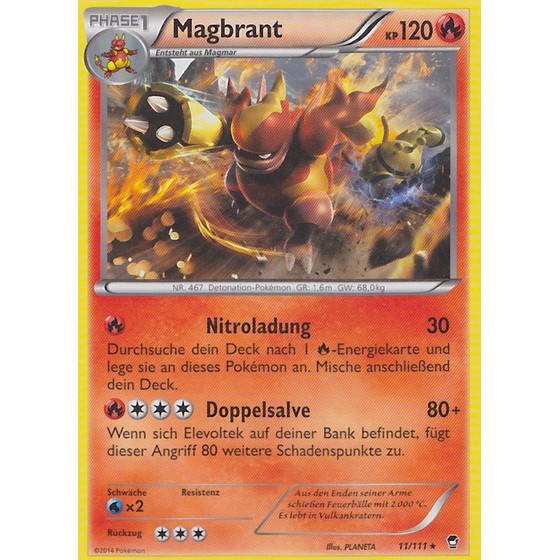Magbrant - 11/111 - Reverse Holo