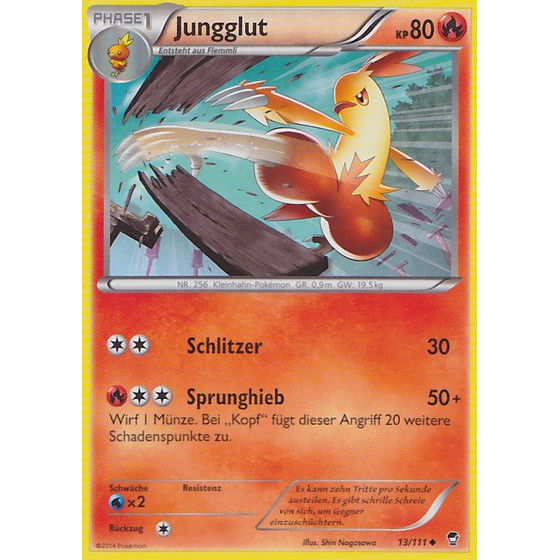 Jungglut - 13/111 - Reverse Holo