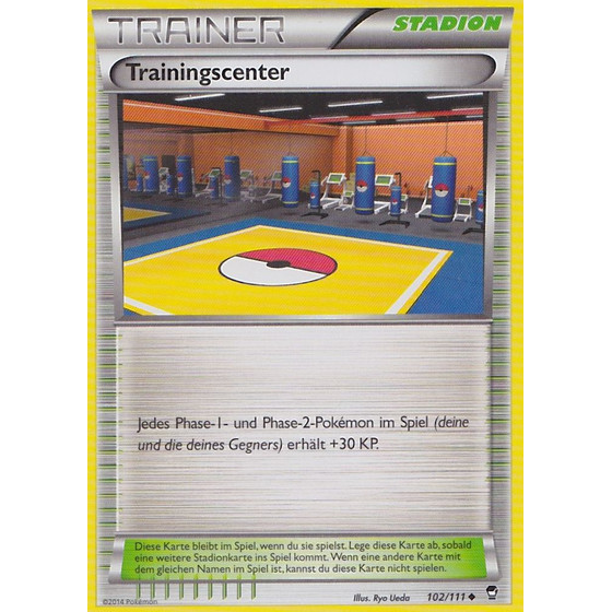 Trainingscenter - 102/111 - Reverse Holo