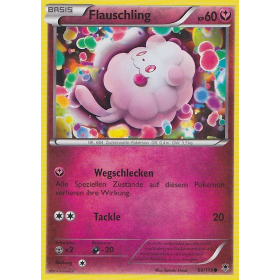 Flauschling - 68/119 - Reverse Holo
